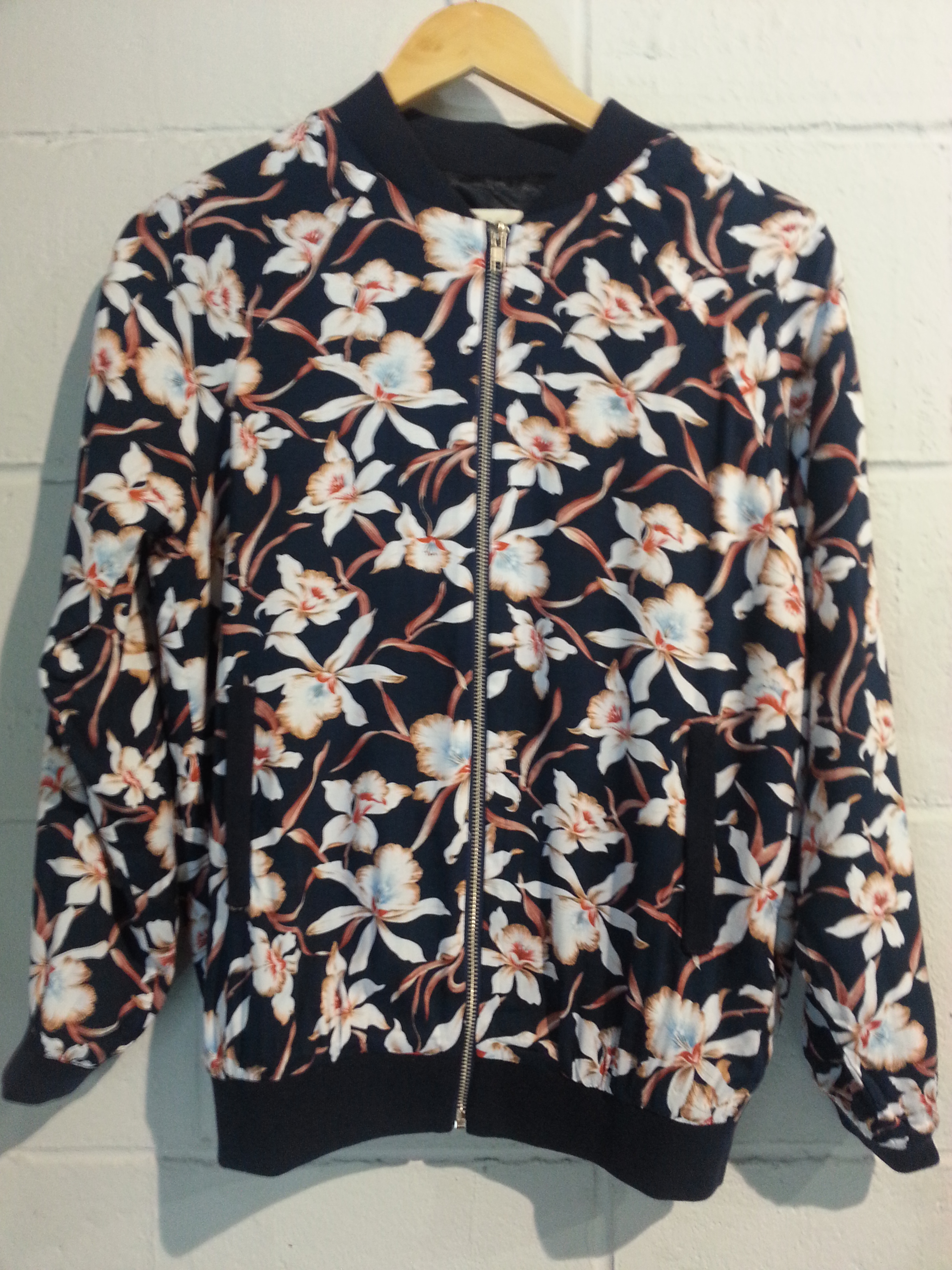 Floral bomber by Goldie