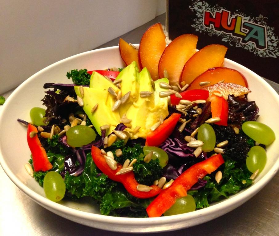 Hula Juice Bar salad